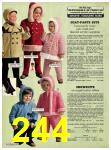 1973 Sears Fall Winter Catalog, Page 244