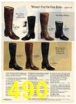 1972 Sears Fall Winter Catalog, Page 490