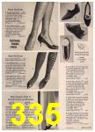 1965 Sears Fall Winter Catalog, Page 335