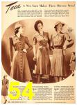 1940 Sears Fall Winter Catalog, Page 54
