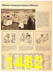 1956 Sears Fall Winter Catalog, Page 1482