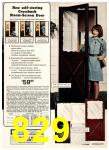 1975 Sears Spring Summer Catalog, Page 829