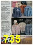 1988 Sears Spring Summer Catalog, Page 735