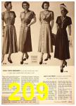 1949 Sears Spring Summer Catalog, Page 209