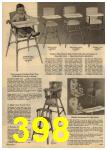 1961 Sears Spring Summer Catalog, Page 398