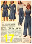 1942 Sears Spring Summer Catalog, Page 17