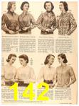 1956 Sears Fall Winter Catalog, Page 142