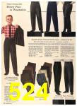 1960 Sears Fall Winter Catalog, Page 524