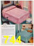 1957 Sears Spring Summer Catalog, Page 744