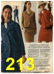 1968 Sears Fall Winter Catalog, Page 213