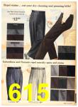 1958 Sears Fall Winter Catalog, Page 615