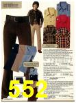 1978 Sears Fall Winter Catalog, Page 552