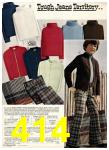 1975 Sears Fall Winter Catalog, Page 414