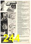 1976 Sears Fall Winter Catalog, Page 244