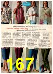 1966 Montgomery Ward Fall Winter Catalog, Page 167