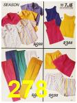 1987 Sears Spring Summer Catalog, Page 278