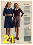 1972 Sears Fall Winter Catalog, Page 21