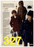 1972 Sears Fall Winter Catalog, Page 327