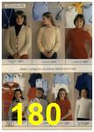 1980 Sears Fall Winter Catalog, Page 180