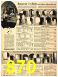 1940 Sears Fall Winter Catalog, Page 870