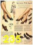 1940 Sears Fall Winter Catalog, Page 235
