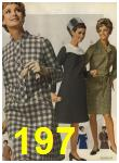 1968 Sears Fall Winter Catalog, Page 197