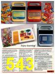 1985 Sears Christmas Book, Page 543