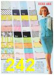 1967 Sears Spring Summer Catalog, Page 242