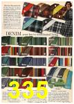 1962 Sears Fall Winter Catalog, Page 335