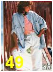 1988 Sears Spring Summer Catalog, Page 49