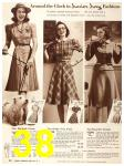 1940 Sears Fall Winter Catalog, Page 38
