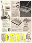 1971 Sears Fall Winter Catalog, Page 1231