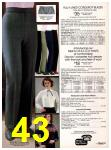 1982 Sears Fall Winter Catalog, Page 43