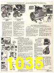 1982 Sears Fall Winter Catalog, Page 1035