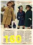 1968 Sears Fall Winter Catalog, Page 160
