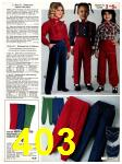 1982 Sears Fall Winter Catalog, Page 403