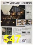 1989 Sears Home Annual Catalog, Page 547