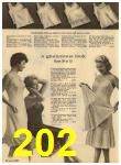 1960 Sears Spring Summer Catalog, Page 202