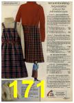 1980 Sears Fall Winter Catalog, Page 171