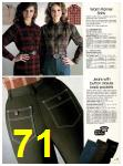 1982 Sears Fall Winter Catalog, Page 71
