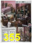 1989 Sears Home Annual Catalog, Page 355