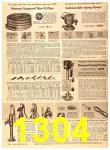 1956 Sears Fall Winter Catalog, Page 1304