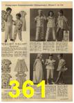 1961 Sears Spring Summer Catalog, Page 361