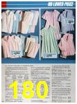 1986 Sears Spring Summer Catalog, Page 180