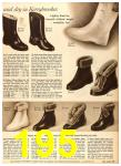 1958 Sears Fall Winter Catalog, Page 195