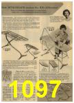 1961 Sears Spring Summer Catalog, Page 1097