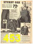 1940 Sears Fall Winter Catalog, Page 453