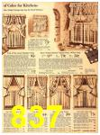 1940 Sears Fall Winter Catalog, Page 837