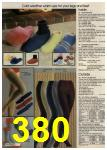 1980 Sears Fall Winter Catalog, Page 380