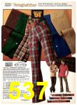 1977 Sears Fall Winter Catalog, Page 537